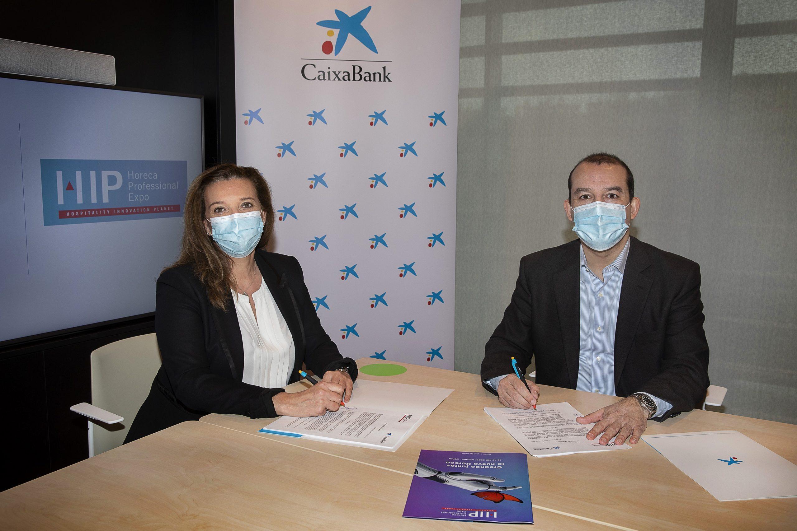 CaixaBank impulsa la innovación y la recuperación del sector hostelero en el HIP – Horeca Professional Expo 2021