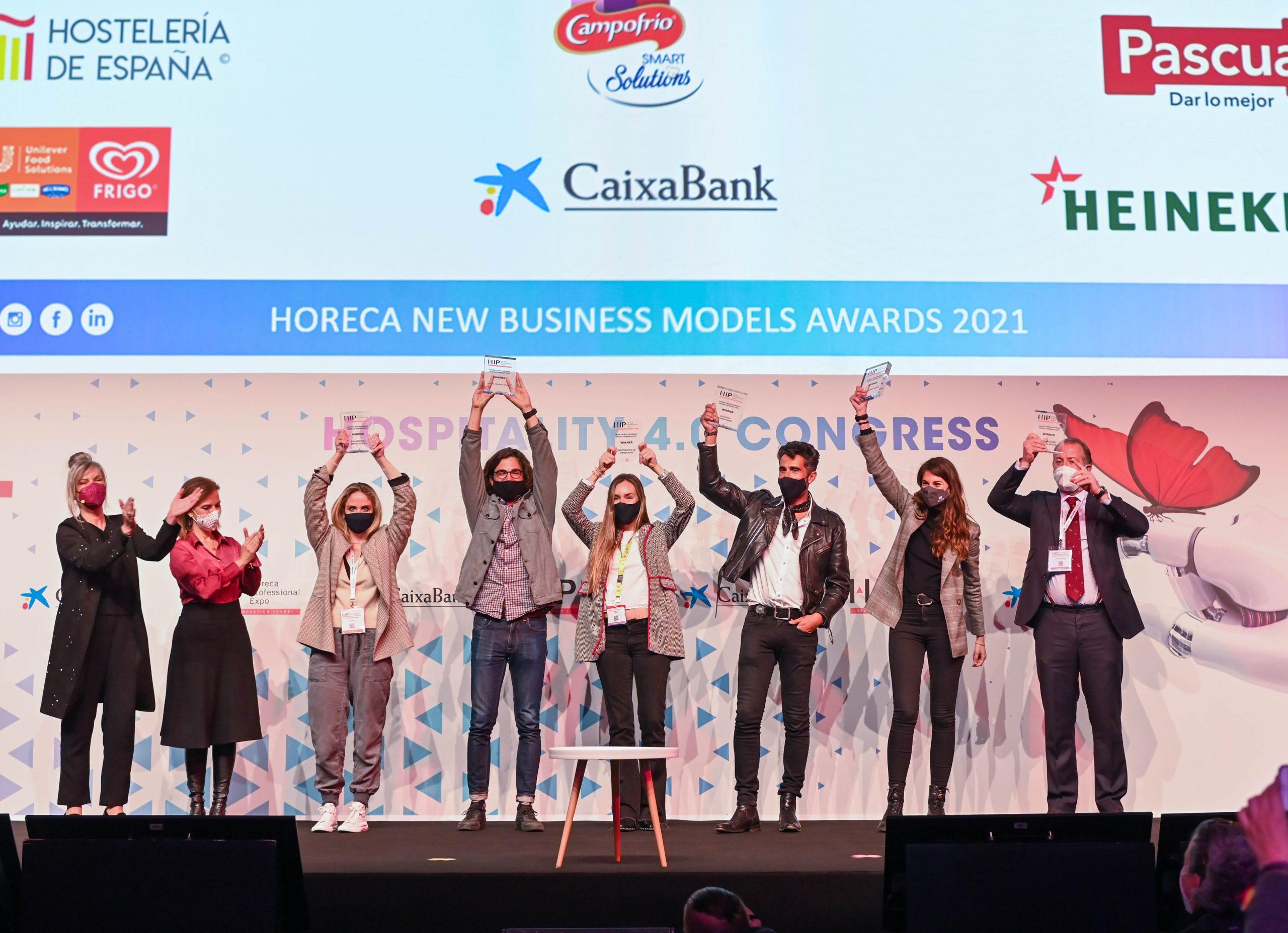 Proteína vegetal, purificadores de aire y hoteles convertidos en coliving, premiados en los Horeca New Business Models Awards 2021