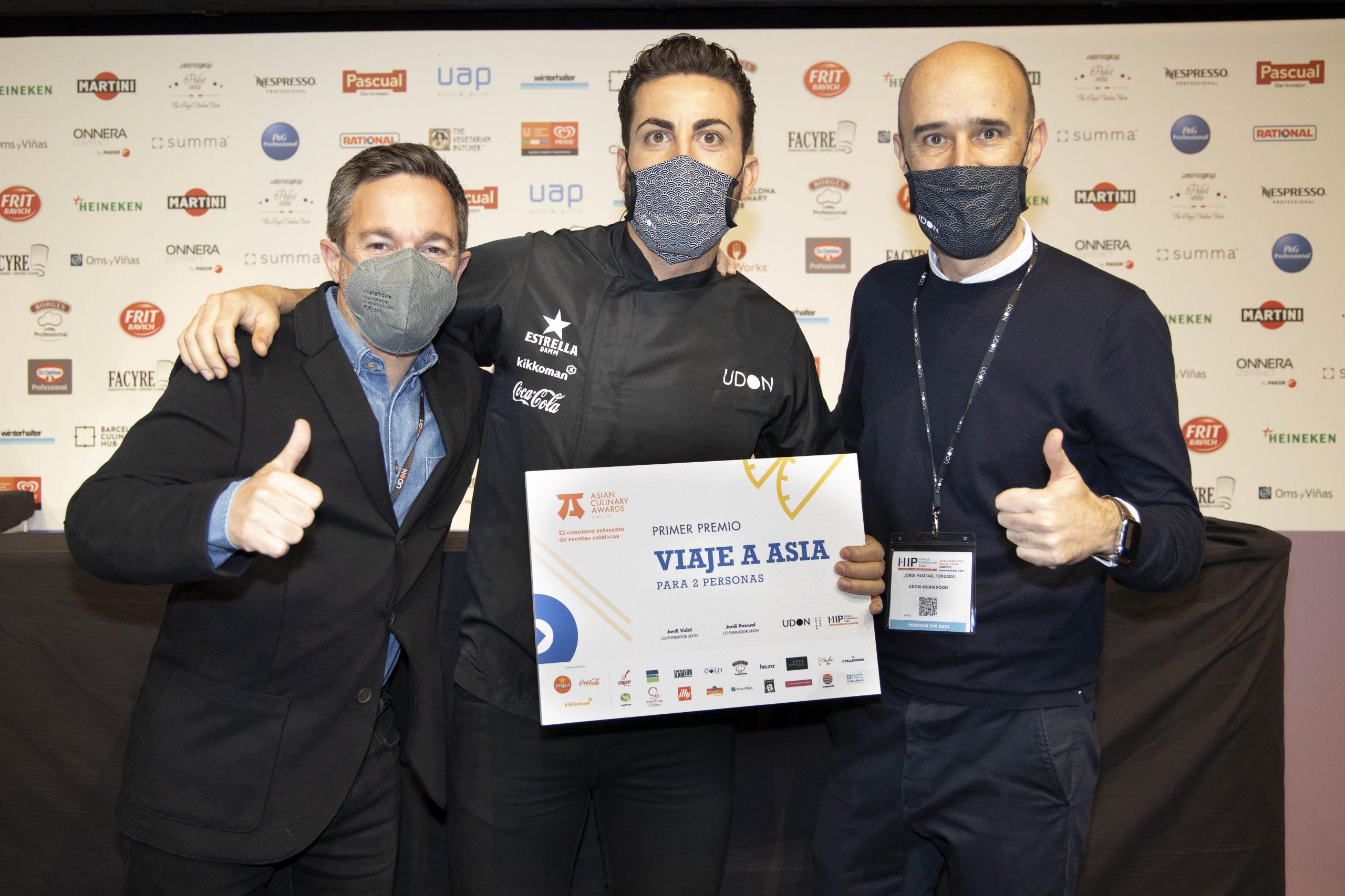 El chef malagueño Juan Carlos Reyes (restaurante Abac), ganador del concurso 'Mejor receta asiática de España'