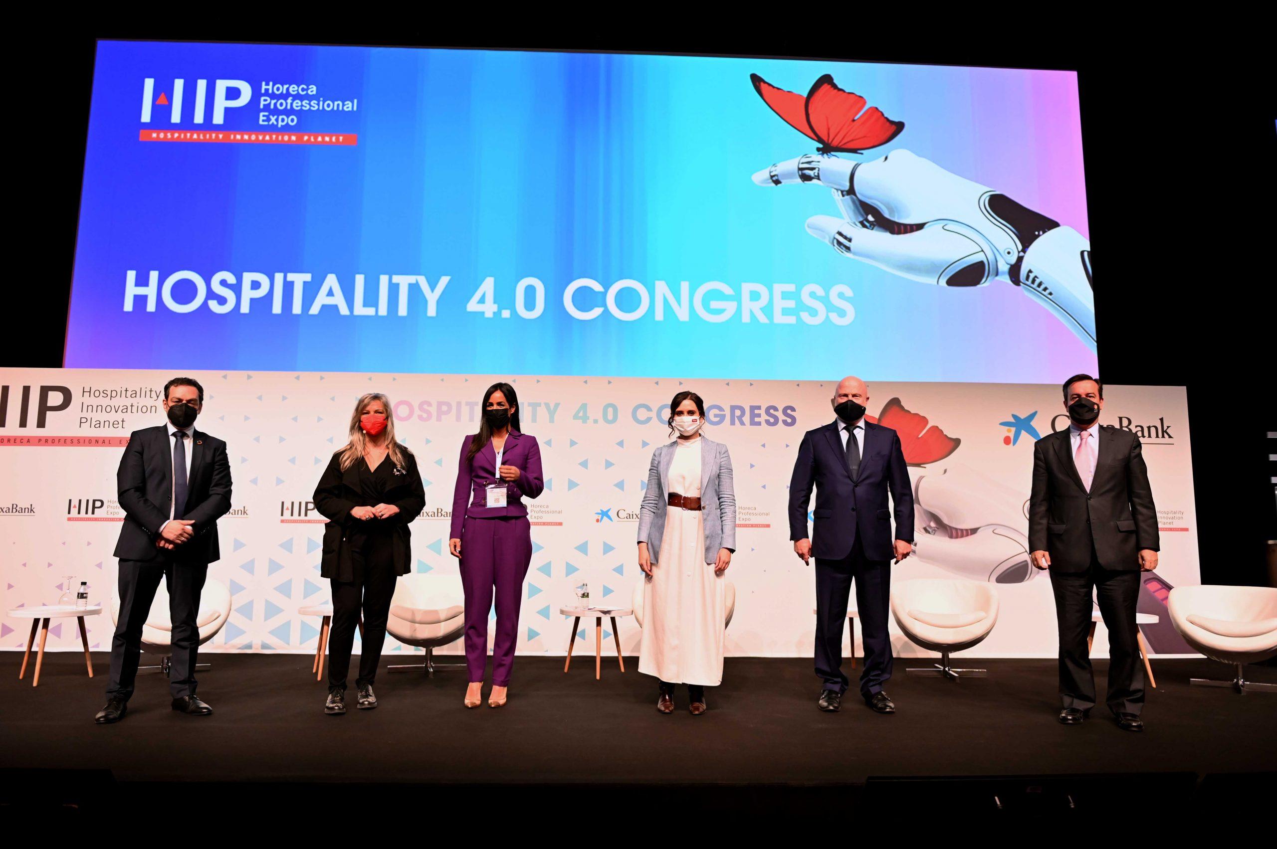 Isabel Díaz Ayuso inaugura HIP – Horeca Professional Expo 2021 defendiendo que la hostelería es segura