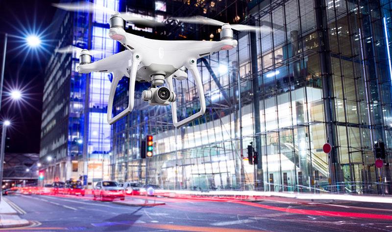 Los drones y la restauración