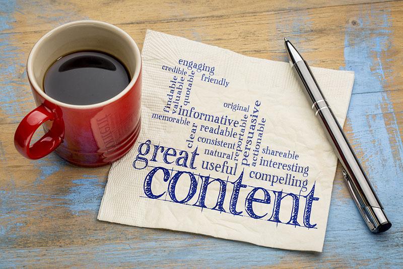 marketing de contenidos para el sector Horeca