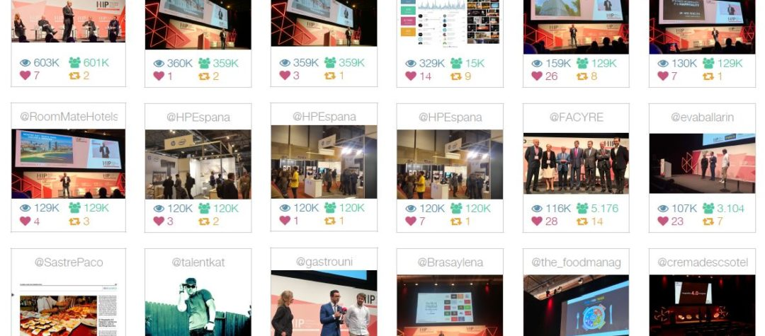 El impacto de #HIP2018 en Twitter