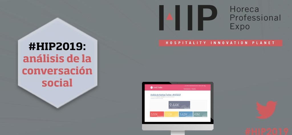 #HIP2019 dobla la conversación social respecto a 2018